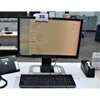 pc HP Intel Corei7-8700 cpu 3.20Ghz16Gb, compleet met tst scherm HP, klavier en muis, paswoord niet gekend