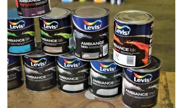 12 potten LEVIS ambiance