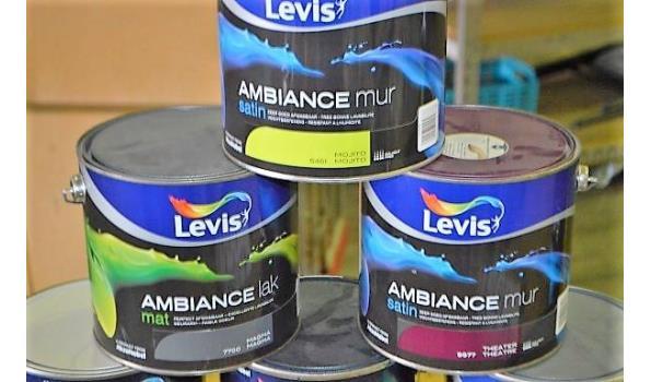 6 potten verf LEVIS Ambiance