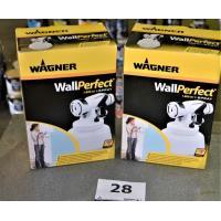 2 spuitopzetstuks WAGNER I-spray
