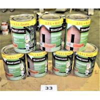 7 potten houtbescherming WOODLOVER