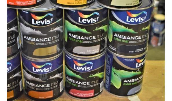 14 potten verf LEVIS Ambiance