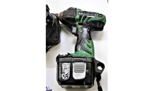 draadloze boormachine HITACHI WH14DMR