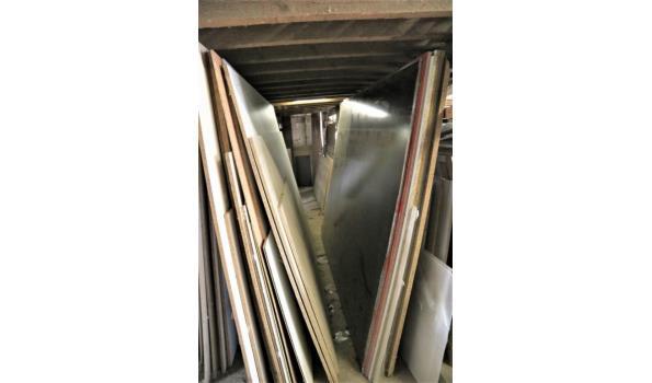 lot houten platen