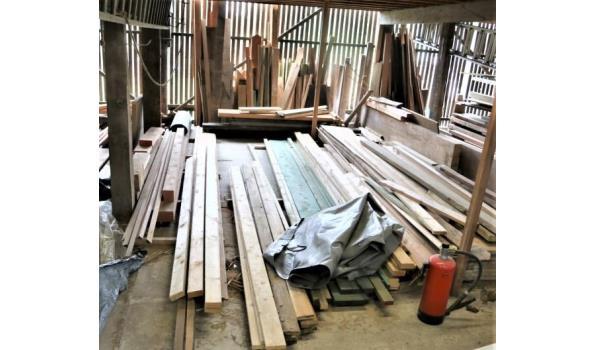 lot houten delen