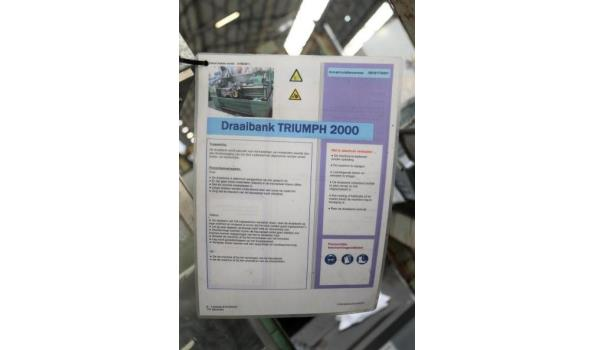 conventionele draaibank COLCHESTER Truimph 2000/600
