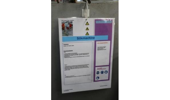 metaal stik/deukmachine PARX