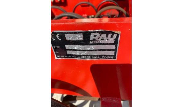 zaaibedcombinatie RAU X-SEM 40, s/n 2370