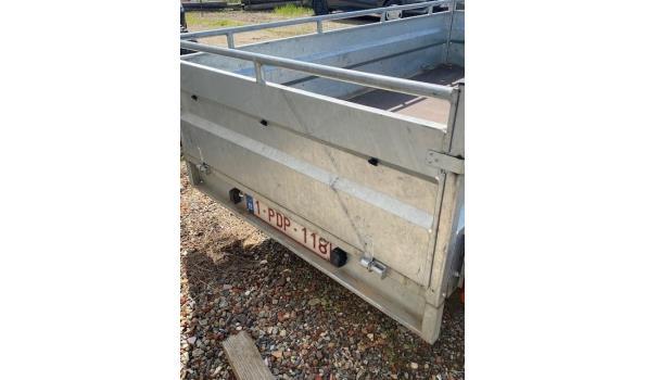 2-assige aanhangwagen LIDER, s/n VN51L2392J1000805, 750Kg