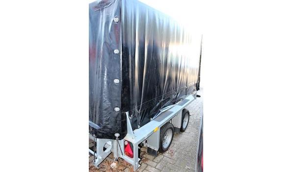 2-assige aanhangwagen IFOR WILLIAMS 2Hb GX35, 1e inschr 19/12/19, chassisnr SCKD00000K0774688, MTM 3500kg, Tarra 910, compl met: gelijkvormigheidsattest, keuring tot 19/02/21, 1sleutel, ZONDER kenteken DEEL I & II