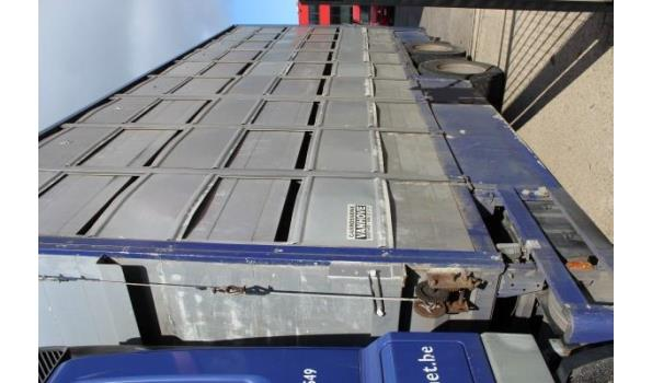 vrachtwagen DAF AS 75PE-L, diesel, 9181cm³, 265kW, 1e inschr 06/01/07, chassisnr XLRAS75PC0E722785, 1.143.054km, CO²-uitstoot ng, Euro3, MTM 26000kg, Tarra 12900kg, compl met kentekenbewijs, gelijkvormigheidsattest, keuring 13/1/22, 1sleutel