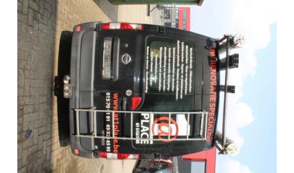 lichte vrachtwagen NISSAN NV400, diesel, 2299cm³, 92kW, 1e inschr 06/02/12, chassisnr VNVM1F22DC45930916,km stand volgens laatste keuring dd 15/2/21: 117.812,  compl met kentekenbewijs, gelijkvormigeheidsattest, 2sleutels, keuring tot 23/2/22,