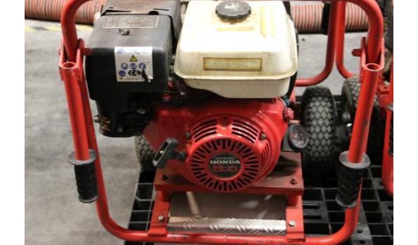 waterpomp STOW T350, aangedreven door motor HONDA GX240, 109 werkuren