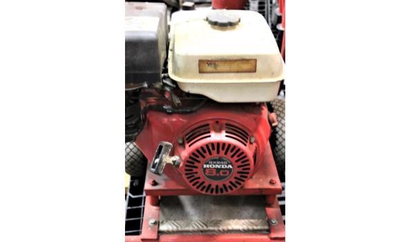 waterpomp STOW T350, aangedreven door motor HONDA GX240, mogelijks defect