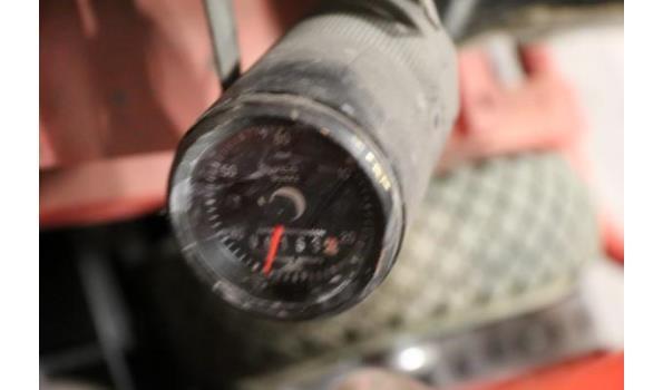 waterpomp STOW T350, aangedreven door motor HONDA GX240, 163 werkuren