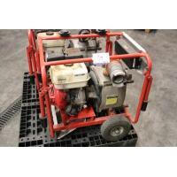 waterpomp STOW T350, aangedreven door motor HONDA GX240, plm 65 werkuren