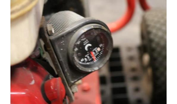 waterpomp STOW T350, aangedreven door motor HONDA GX240, plm 102 werkuren