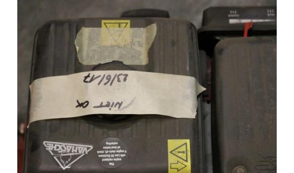 ventilator LEADER MT 236B, aangedreven door VANGUARD 6Hp, niet in orde