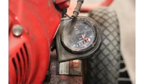 waterpomp STOW T350, aangedreven door motor HONDA GX240, plm 124 werkuren