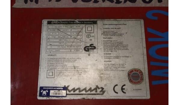 stroomgroep KIRCH 6BSV, aangedreven door VANGUARD 14Hp
