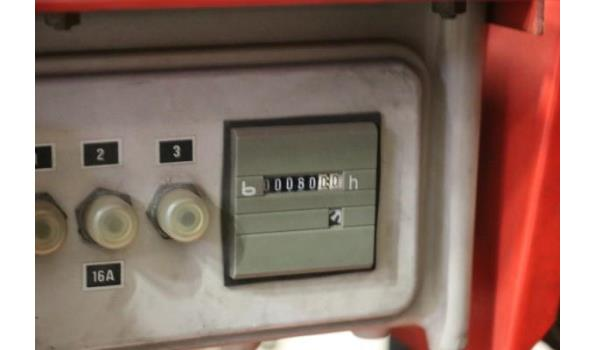 stroomgroep KIRCH 6BSV, aangedreven door VANGUARD 14Hp, werkuren 60