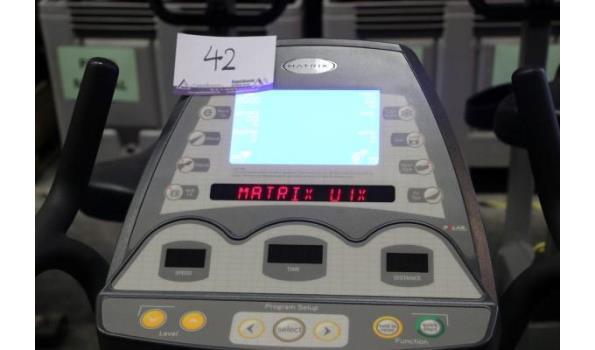hometrainer MATRIX, vv hartslagvoeler enz