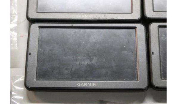 4 gps toestellen GARMIN DEZL 560 plus toebehoren