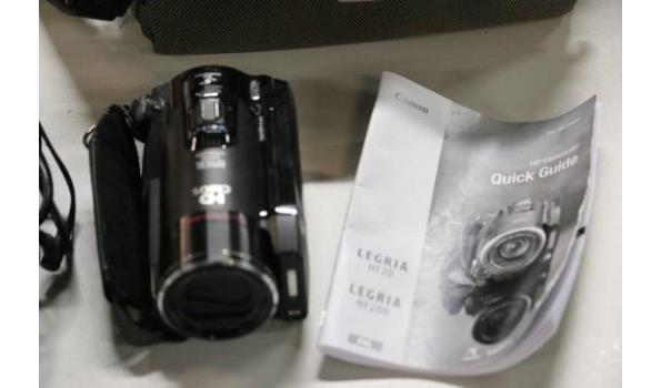 HD-camcorder CANON, type Legria HF