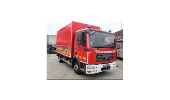 Logistiek gesloten vrachtwagen MAN TGL 10.180, diesel, 4850cm³, 132kW, 1e inschr 29/05/07, chassisnr WMAN05ZZ87Y186860, plm 111.048km, CO²-uitstoot ng,  EURO 4, compl met:  1sleutel, kentekenbewijs DEEL I + II, gelijkvormigheidsattest, keuring tot 22/06/21