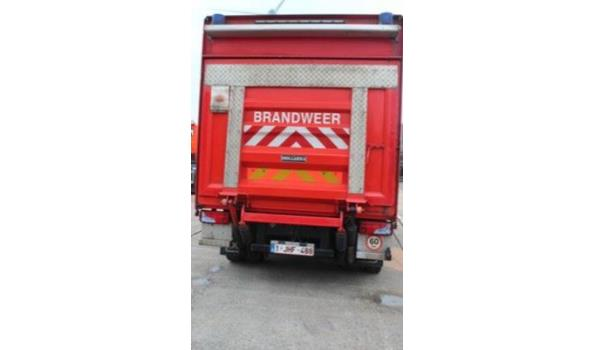 Logistiek gesloten vrachtwagen MAN TGL 10.180,  diesel, 4580cm³, 132kW, 1e inschr 29/05/07, chassisnr WMAN05ZZ47Y186855, plm 121938km, CO²-uitstoot ng, EURO4, compl met: 1 sleutel, kentekenbewijs DEEL I+II,  gelijkvormigheidsattest, keuring tot 26/06/21