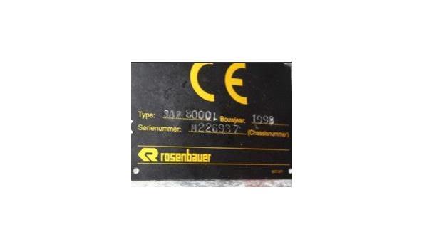 schuimautopomp/vrachtwagen MAN 33.403 DF 6x4, diesel, 11967cm³, 294kW, 1e inschr 06/11/98, chassisnr WMAT481082M226937, plm 60.778km, CO²-uitstoot ng, EURO2, compl met: 1 sleutel, kentekenbewijs  DEEL I+II,  gelijkvormigheidsattest, keuring tot 17/10/19,