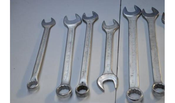 9 zware sleutels