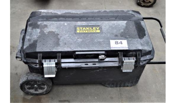 verrijdbare gereedschapskoffer STANLEY fatmax met inhoud