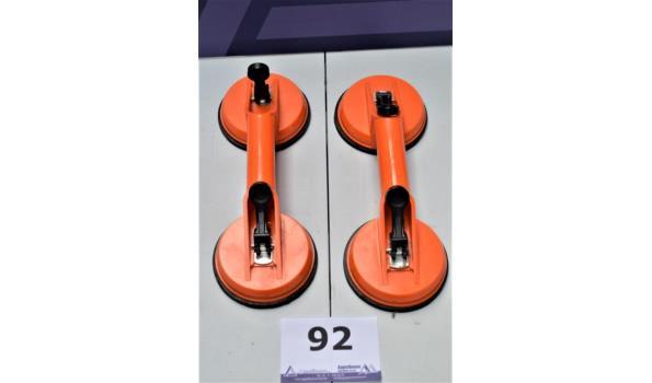2 glazendragers