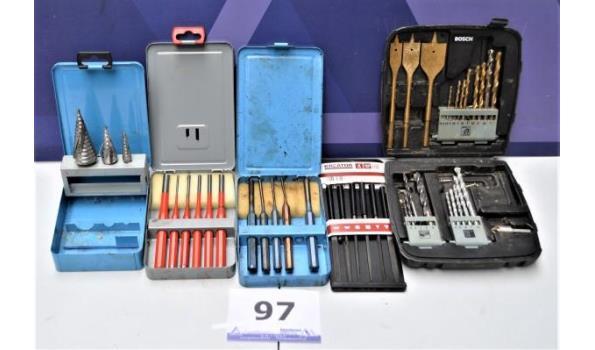 5 diverse gereedschapsets