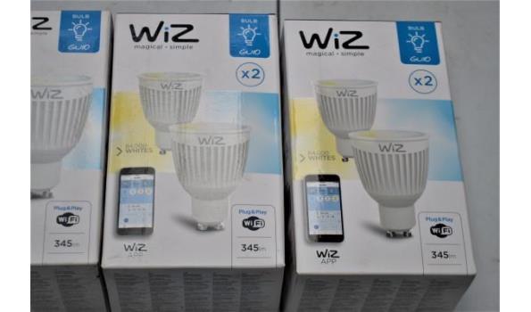 3 lampen WIZ vv wifi