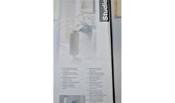 2 binnenhuis sensorlampen STUDIOLINE