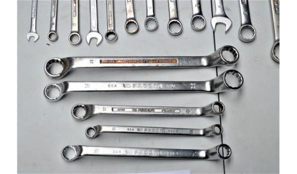 17 sleutels FACOM