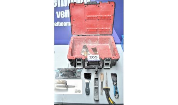 gereedschapkoffer en gereedschap