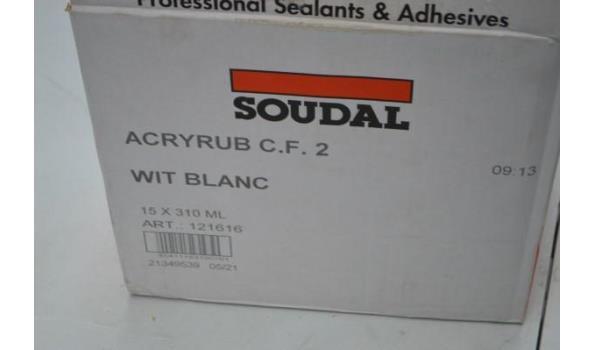 2 dozen diverse siliconen SOUDAL