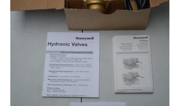 3 gemotoriseerde 3-weg aflsuiters HONEYWELL VC4613