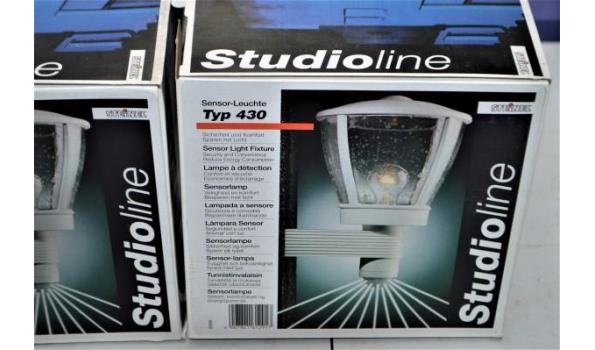 2 buitenlampen vv sensor STEINEL Studioline
