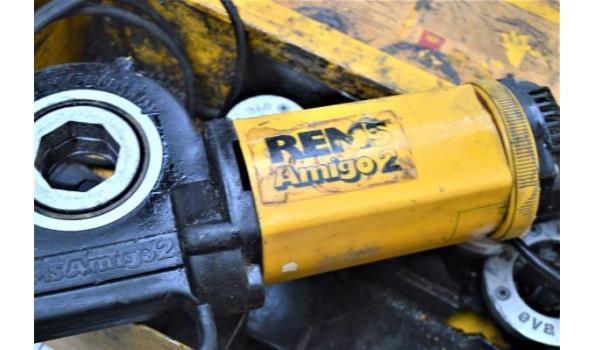 aandrijfmachine REMS Amigo 2 met toebehoren