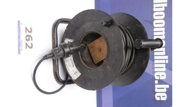 elektrakabel op haspel