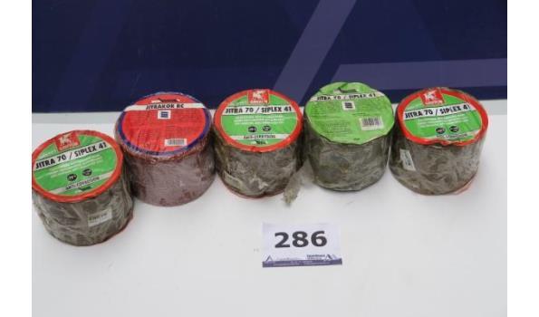 5 rollen corrosiewerende tape GRIFFON Jitra