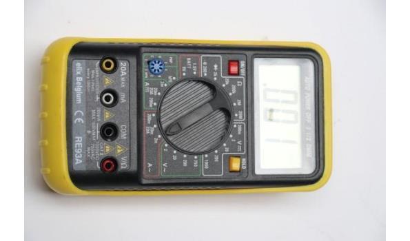 mulitmeter ELIX RE93A