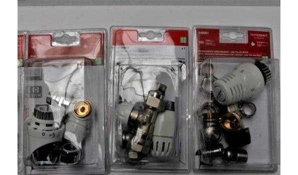 7 radiatorkraansets