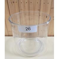 Glazen pot diameter 30cm Hoogte 30cm Handgemaakt