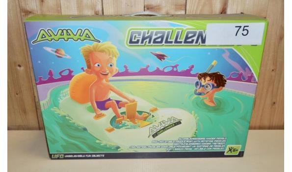 Opblaasbare Kinder Waterfiets fabr. Aviva type Challenger