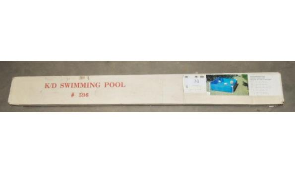 Zwembad afm. 165x165x50